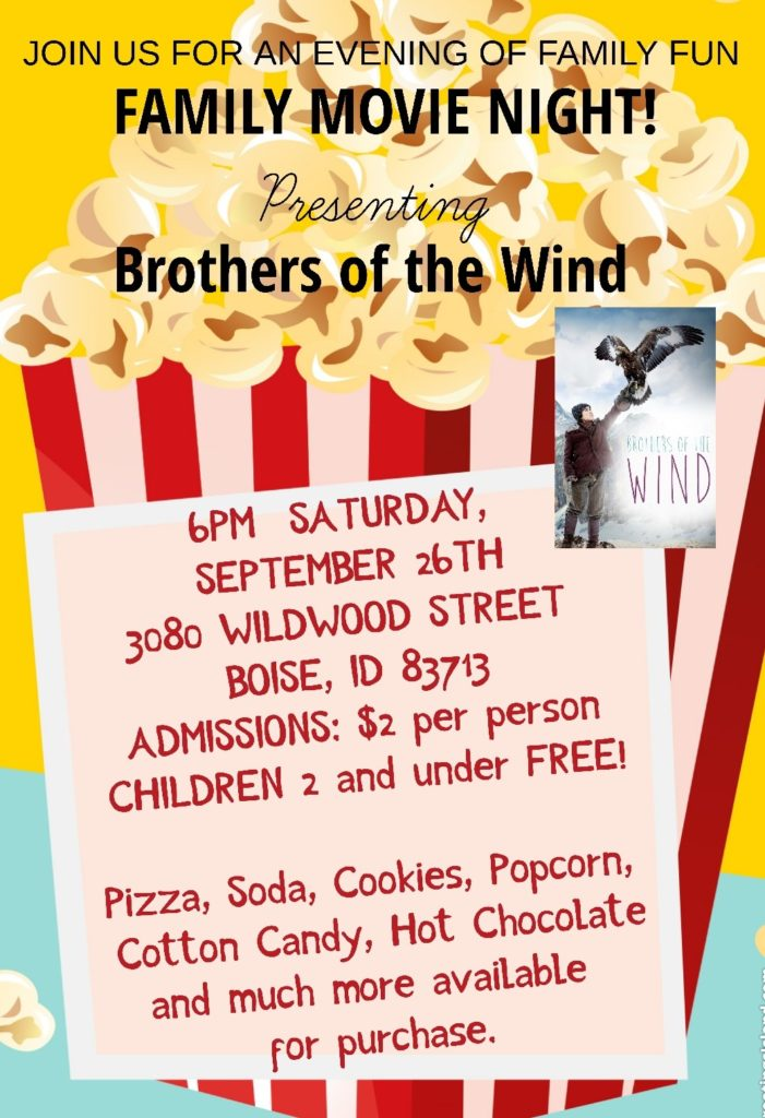 Petra Christian Academy Family Movie Night